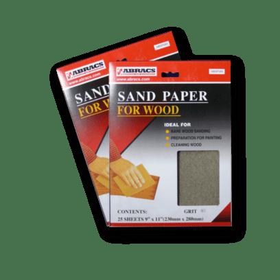 Abracs Abrasives Sandpaper Sheets - for wood