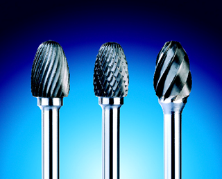 Oval Typhoon Carbide Burrs