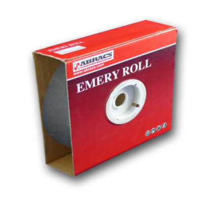 Emery Cloth Rolls available in various grades.