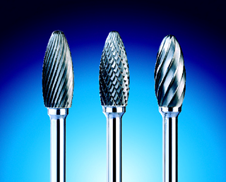 Typhoon Carbide Burrs - Flame