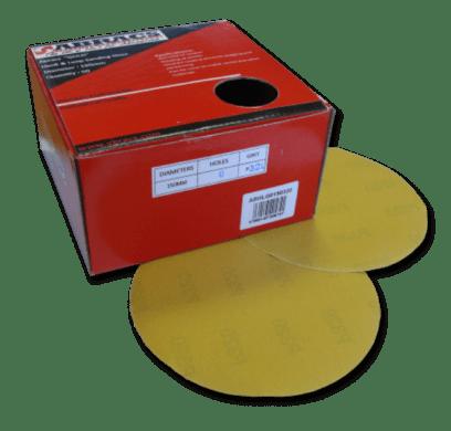 Abracs Gold Hook and Loop Sanding Discs
