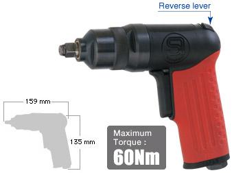 """3/8"""" Impact Wrench SI-1315S, Shinano Air Tools"""