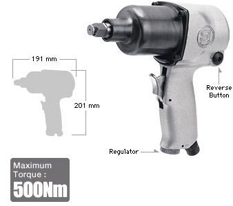"""1/2"""" Impact Wrench SI-1420T, Shinano Air Tools"""