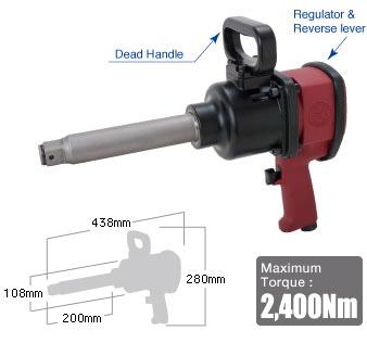 """1"""" Impact Wrench SI-1866, Shinano Air Tools"""