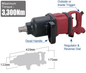 """1"""" Impact Wrench SI-1880, Shinano Air Tools"""