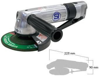 Shinano Air Tools, SI-2505L Disc Grinder
