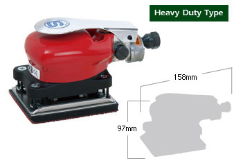 Orbital Air Sander SI-3003B, Shinano Air Tools