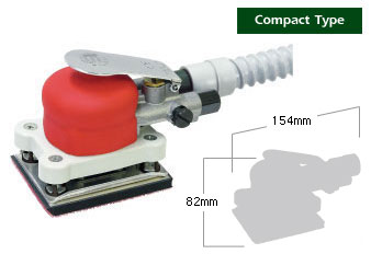 Shinano Air Tools - SI-3011A Self Vacuum Orbital Sander