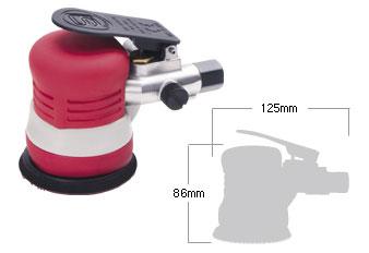 SI-3102M Mini Dual Action Sander - Shinano Air Tools