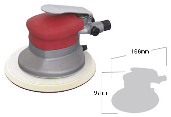 Shinano Air Tools Dual Action Sander SI-3103-6A