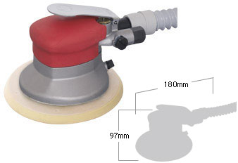 Self Vacuum Dual Action Sander SI-3113-6A, Shinano Air Tools