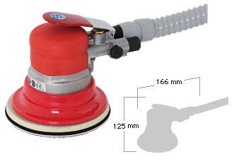 Shinano Air Tools - Self Vacuum Geared Dual Action Sander