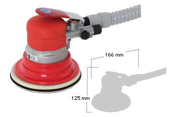 SI-3115R-6 Self Vacuum Geared Dual Action Sander-0