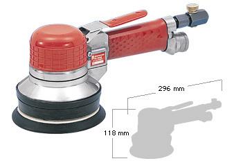 Self Vacuum Dual Action Sander SI-3118A, Shinano Air Tools