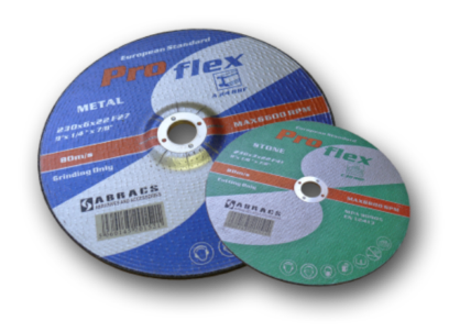Proflex and Phoenix Abrasive Wheels/Discs for Metal