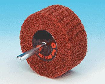 Spindle Mounted Fleece Flapwheels-0