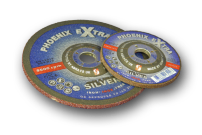 Phoenix Extra Silver - INOX - abrasive wheels/discs for grinding stainless steel