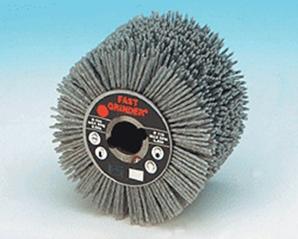 Abrasive Nylon Wire Brush Wheel-0